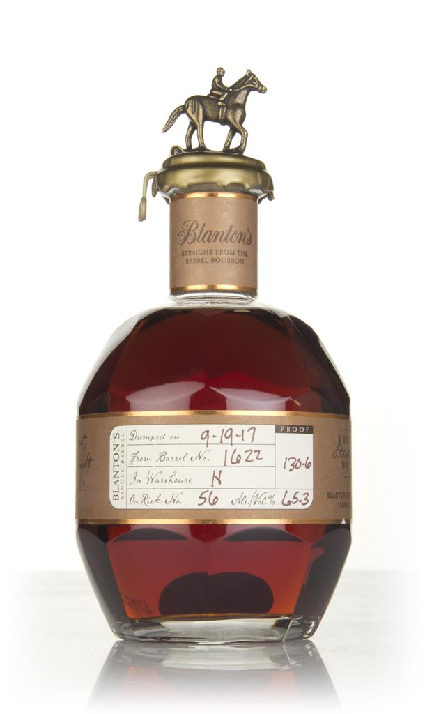 Number 6 - Blanton's Straight From The Barrel