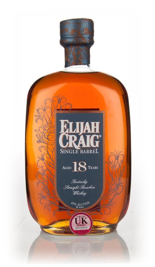 Number 8 - Elijah Craig Single Barrel