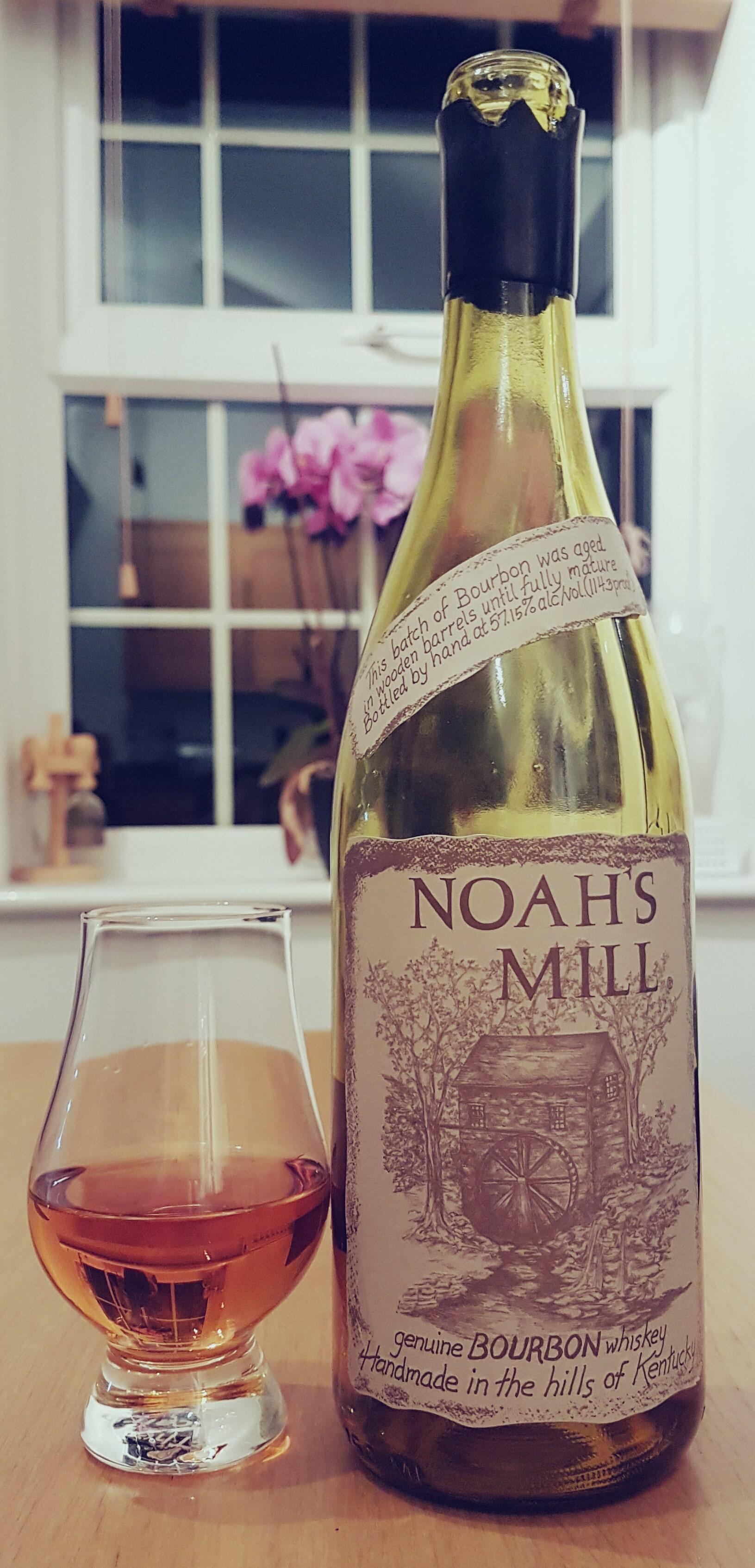 Ah Noah's Mill - a slightly more interesting bourbon
