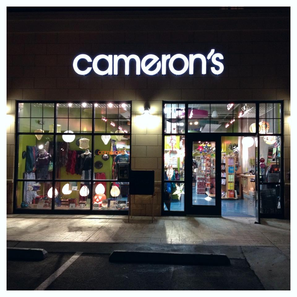 Thank you, Dear Friends! - This will be Cameron's last artwalk before we close. Come and celebrate all that is the art of Cameron's! Share memories and enjoy some holiday cheer! Thank you for all the great years!Friday, December 14thfrom 6:00pm-9:00pm