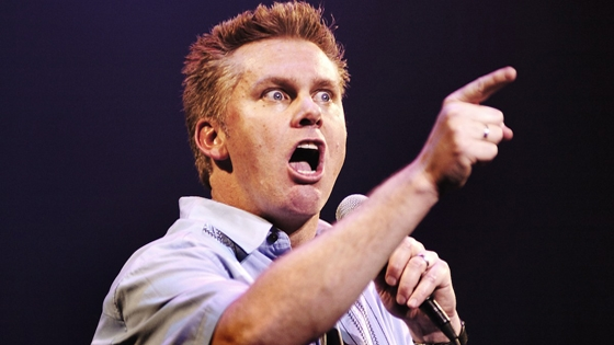 Using an anecdote taken from comedian, Brian Regan, to discuss relational habits