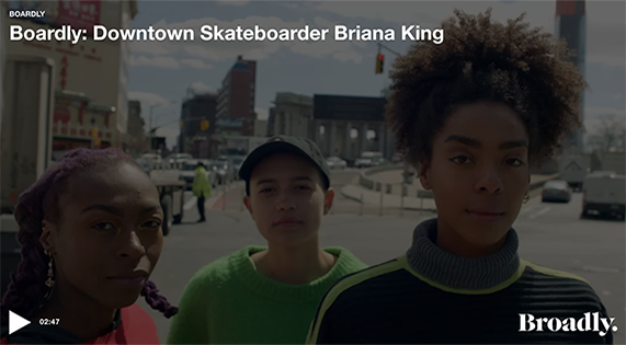New Yorker, Briana King, discusses how skateboarding helped her deal with anxiety and build friendships.