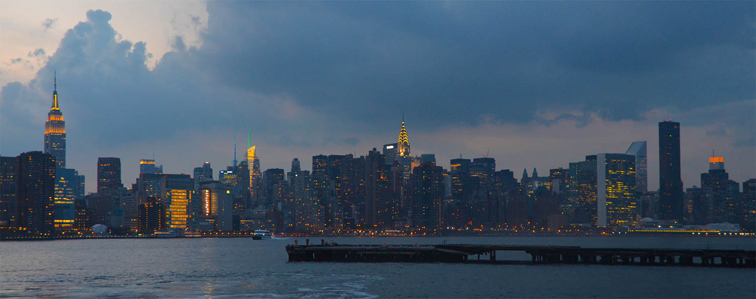 Manhattan Skyline taken from Brookyn - photo by Melissa McKenzie
