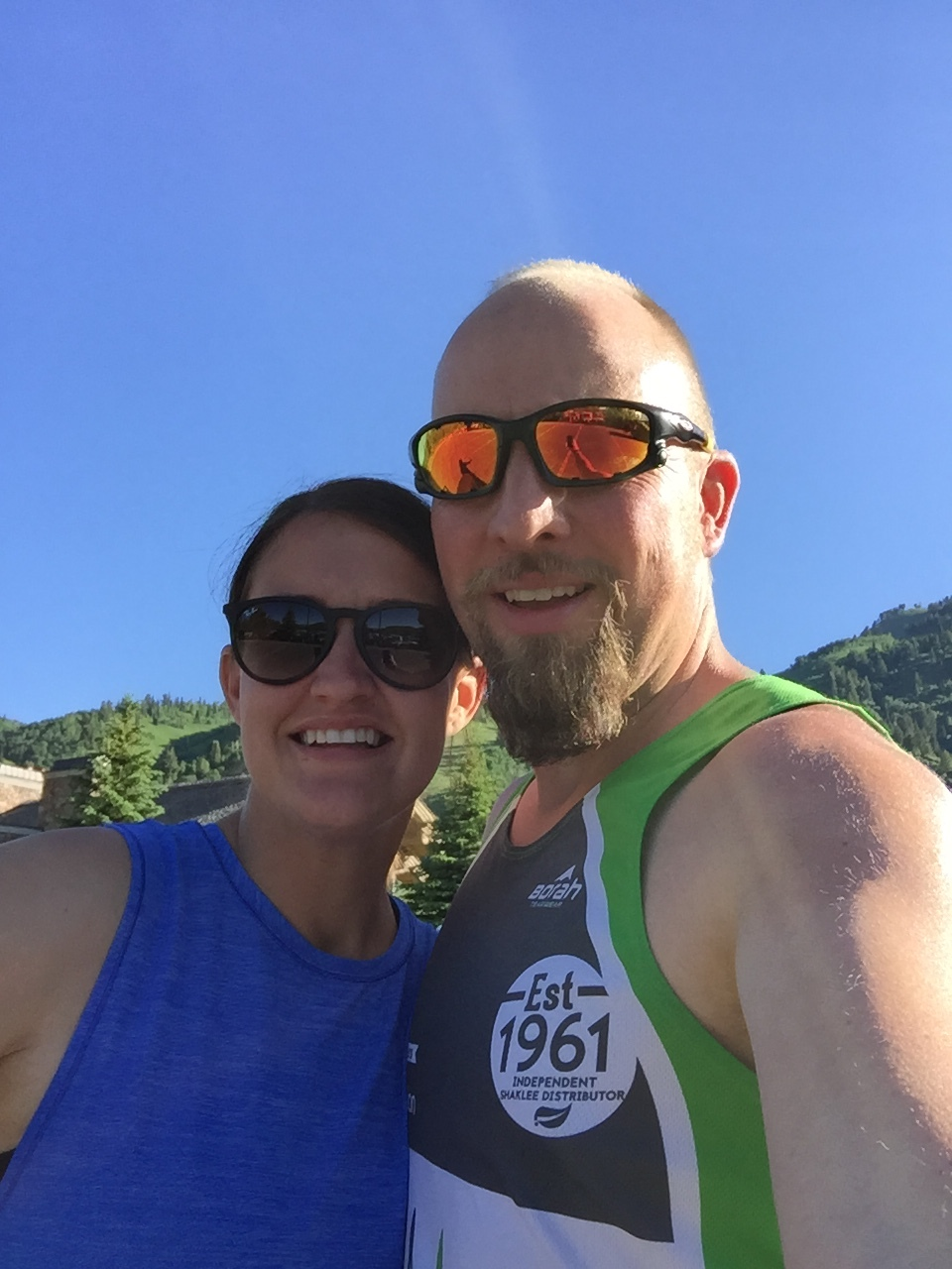 My Wife and I kicking Ragnars Butt!