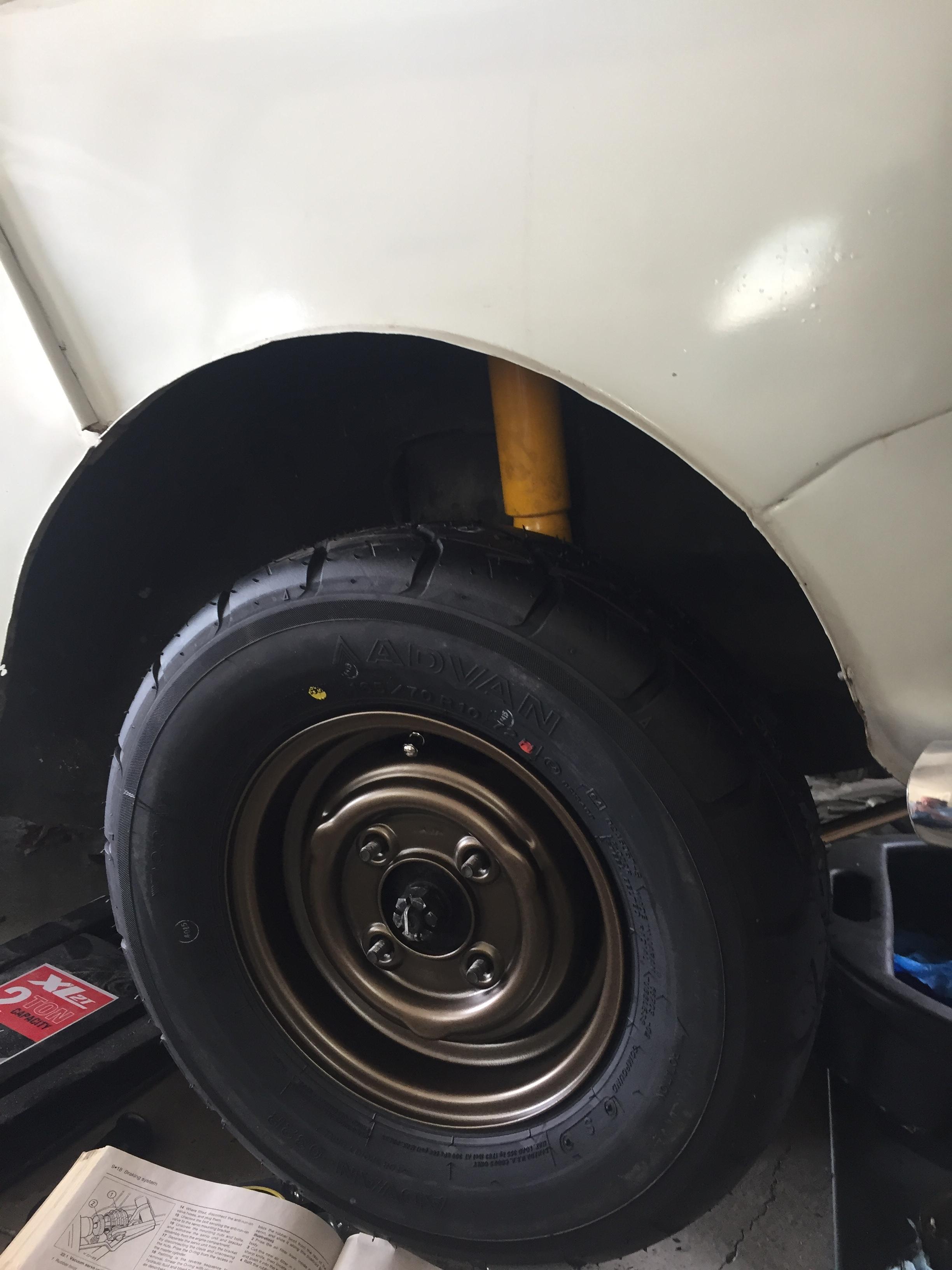 Test Fit Wheel
