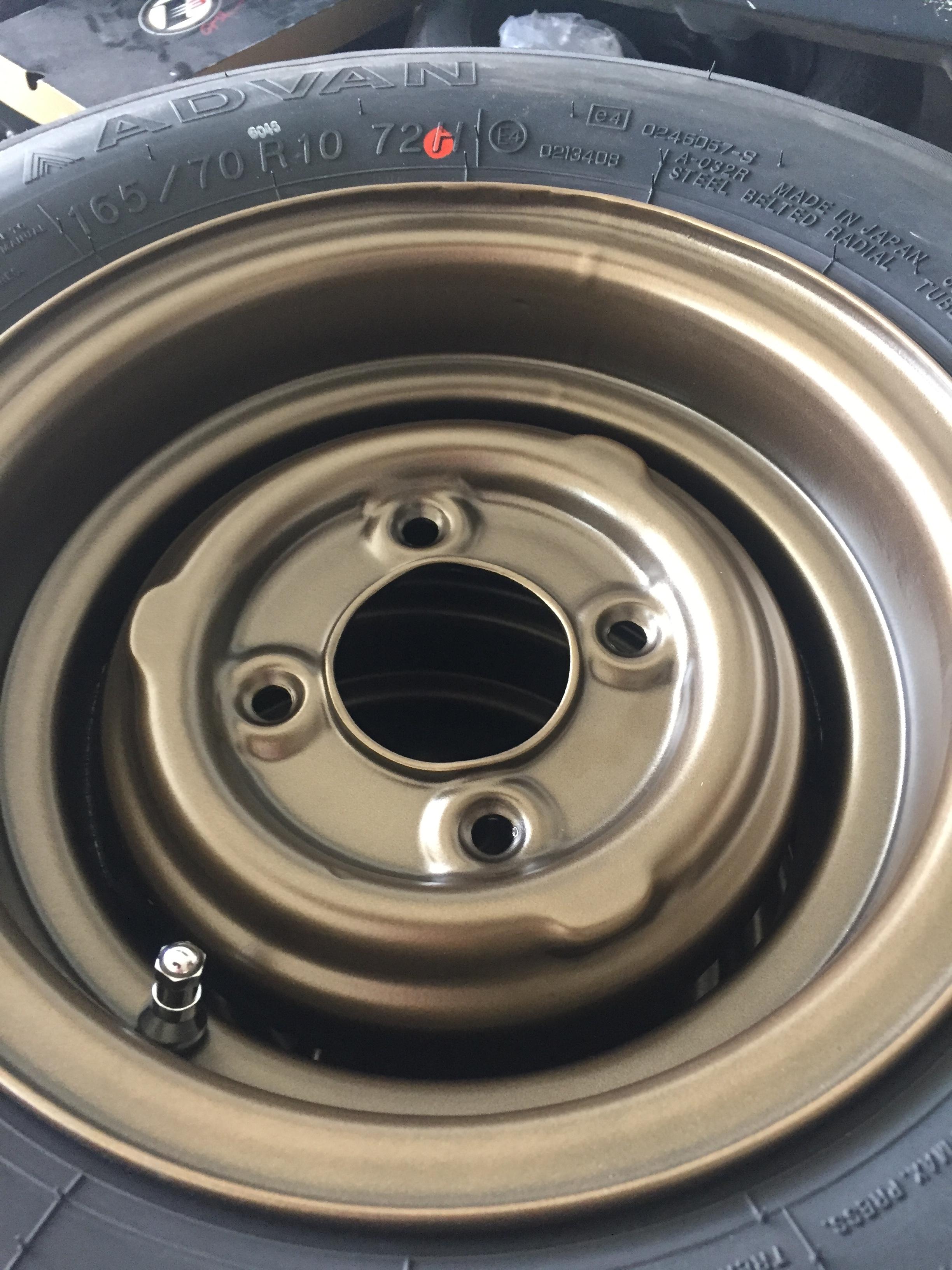 Side Angle Wheel