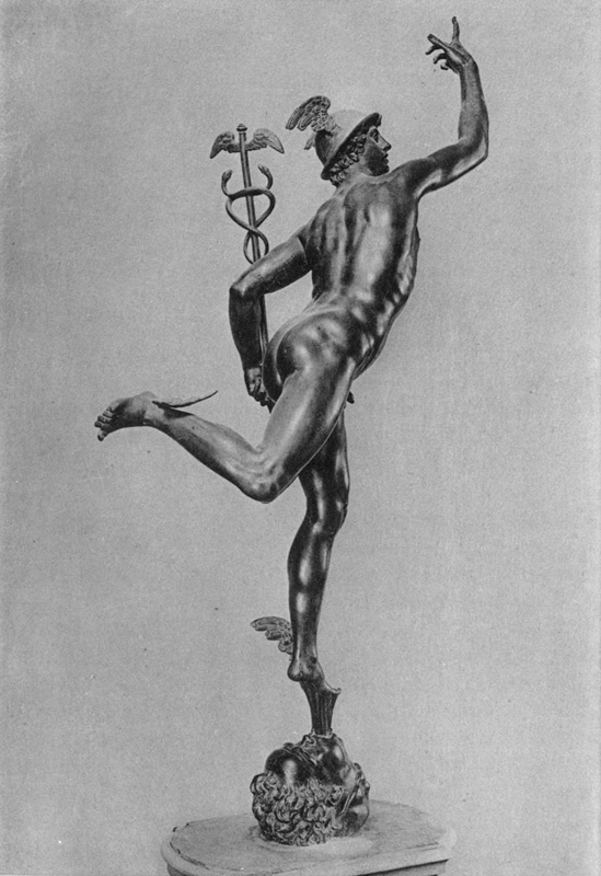 Mercury. After the bronze by Giovanni Bologna. Florence: Museo Nazionale