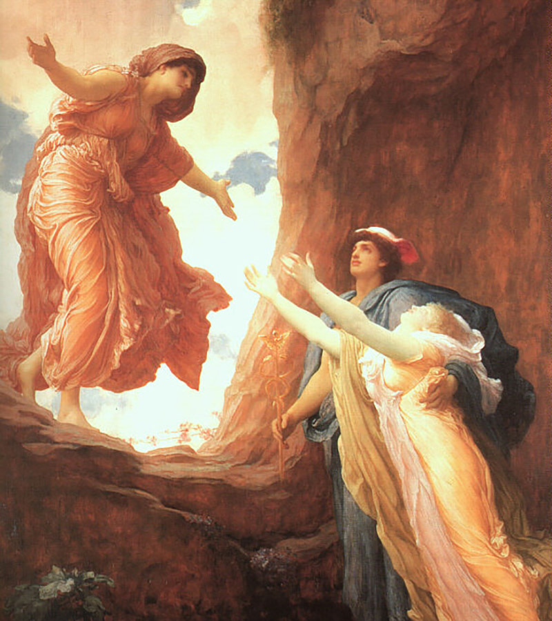 Frederic Leighton,  Return of Persephone , 1891