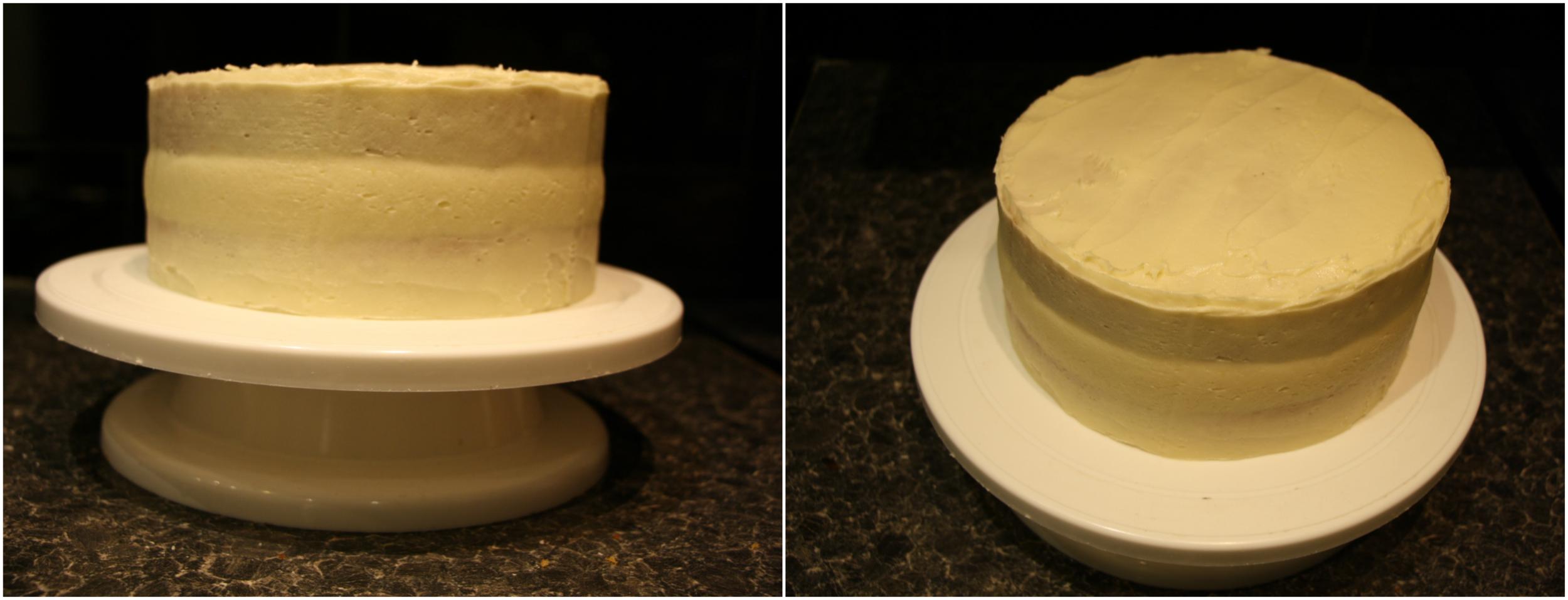 cake coating process