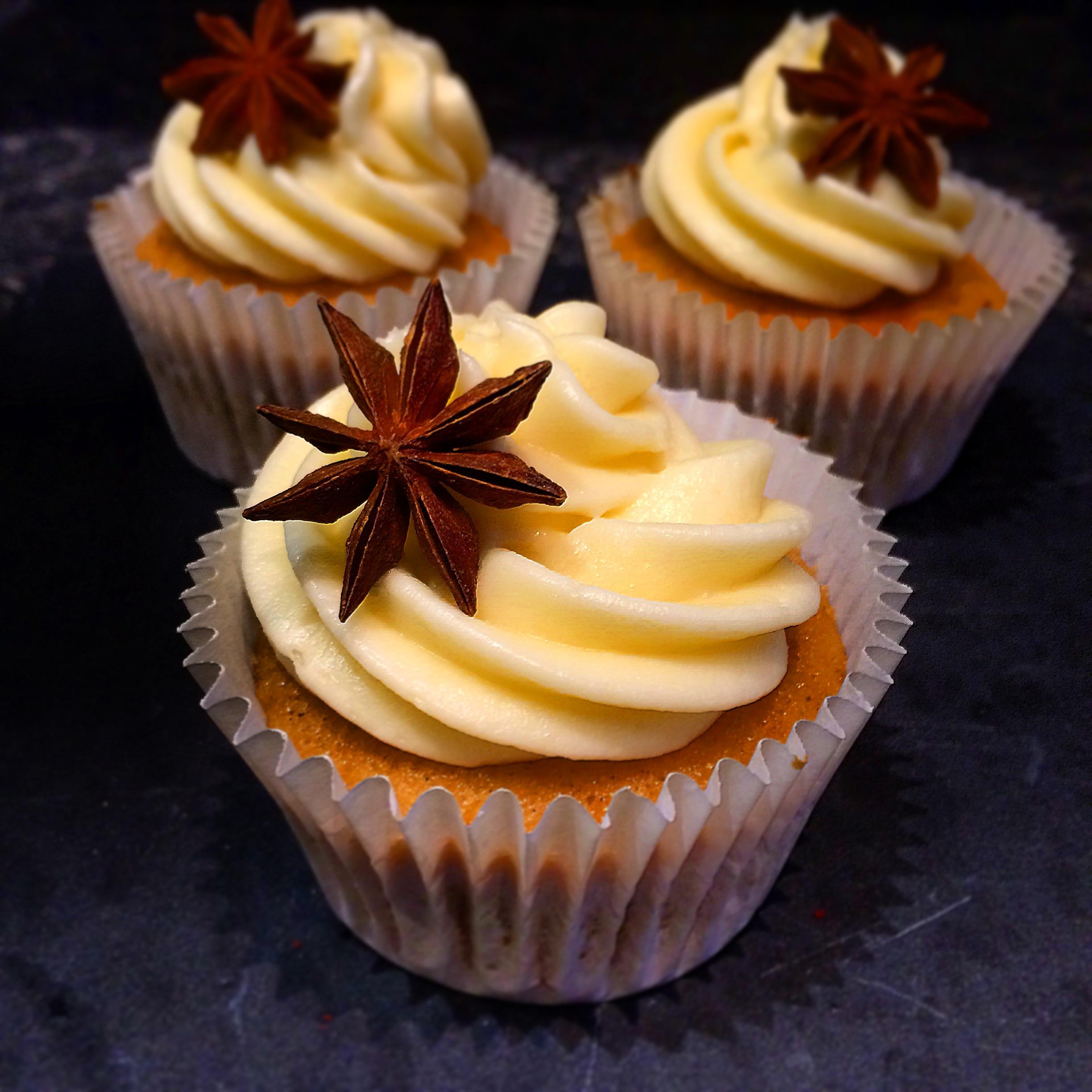 Chai Spiced Cupcakes