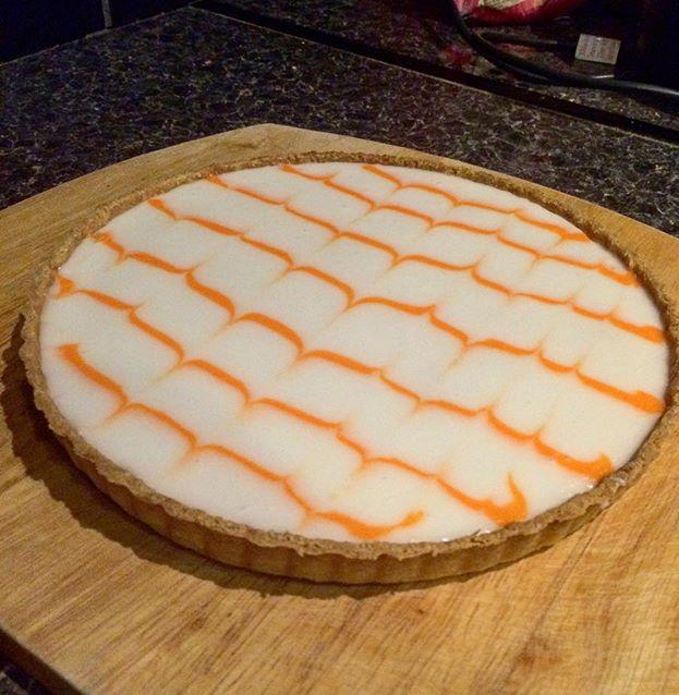 Almond and Clementine Frangipane Tart