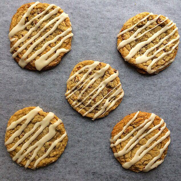 Candied Bacon, Maple and Chocolate Chip Cookies