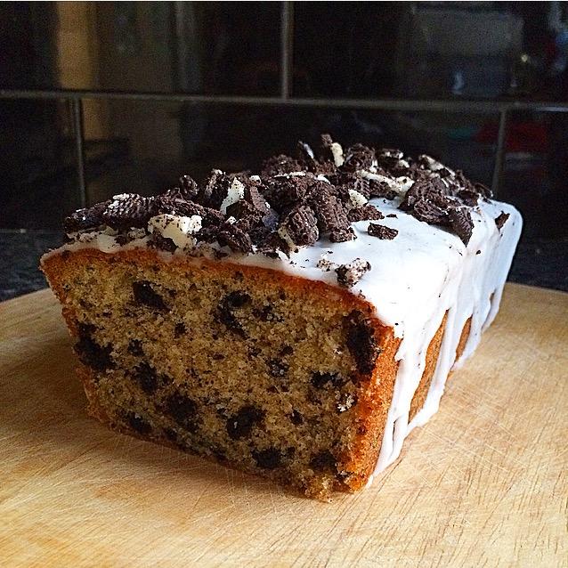 Oreo Loaf Cake
