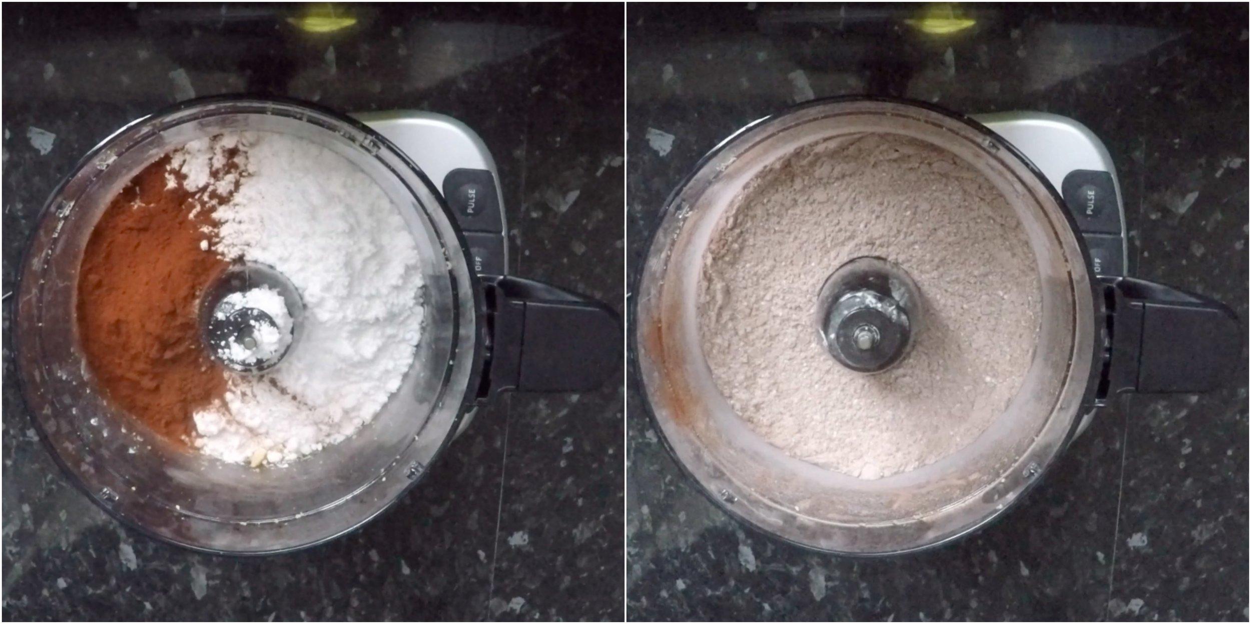 Chocolate Hazelnut Macarons filled with Nutella Ganache