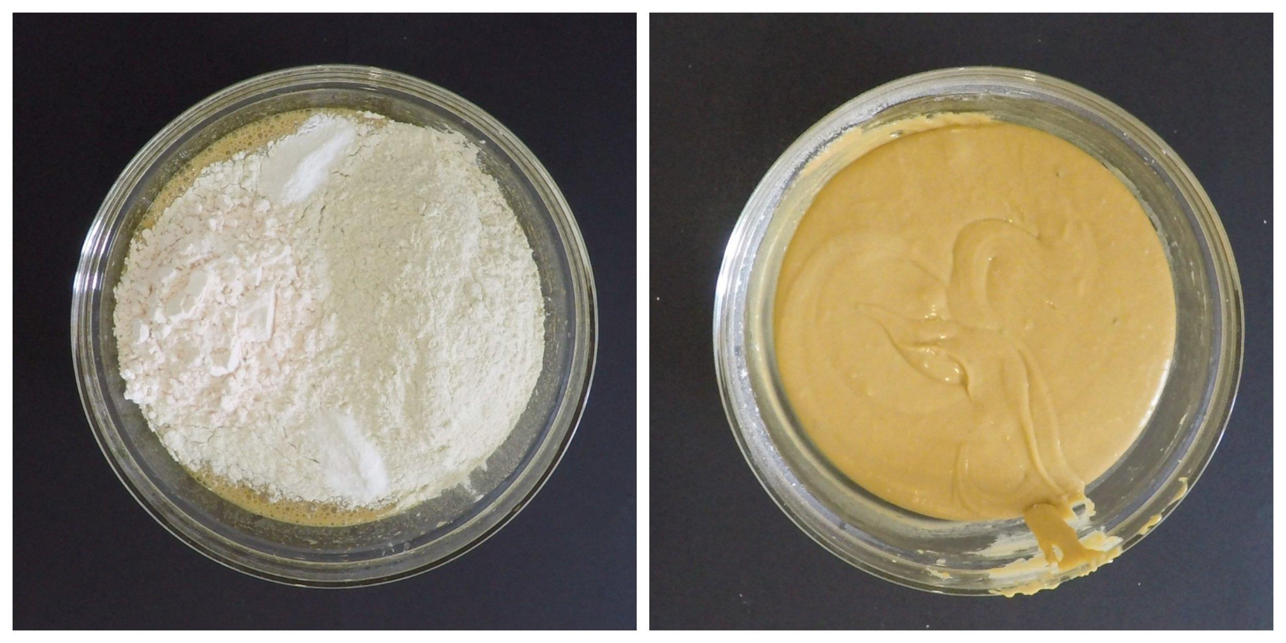 Custard Cream Blondies