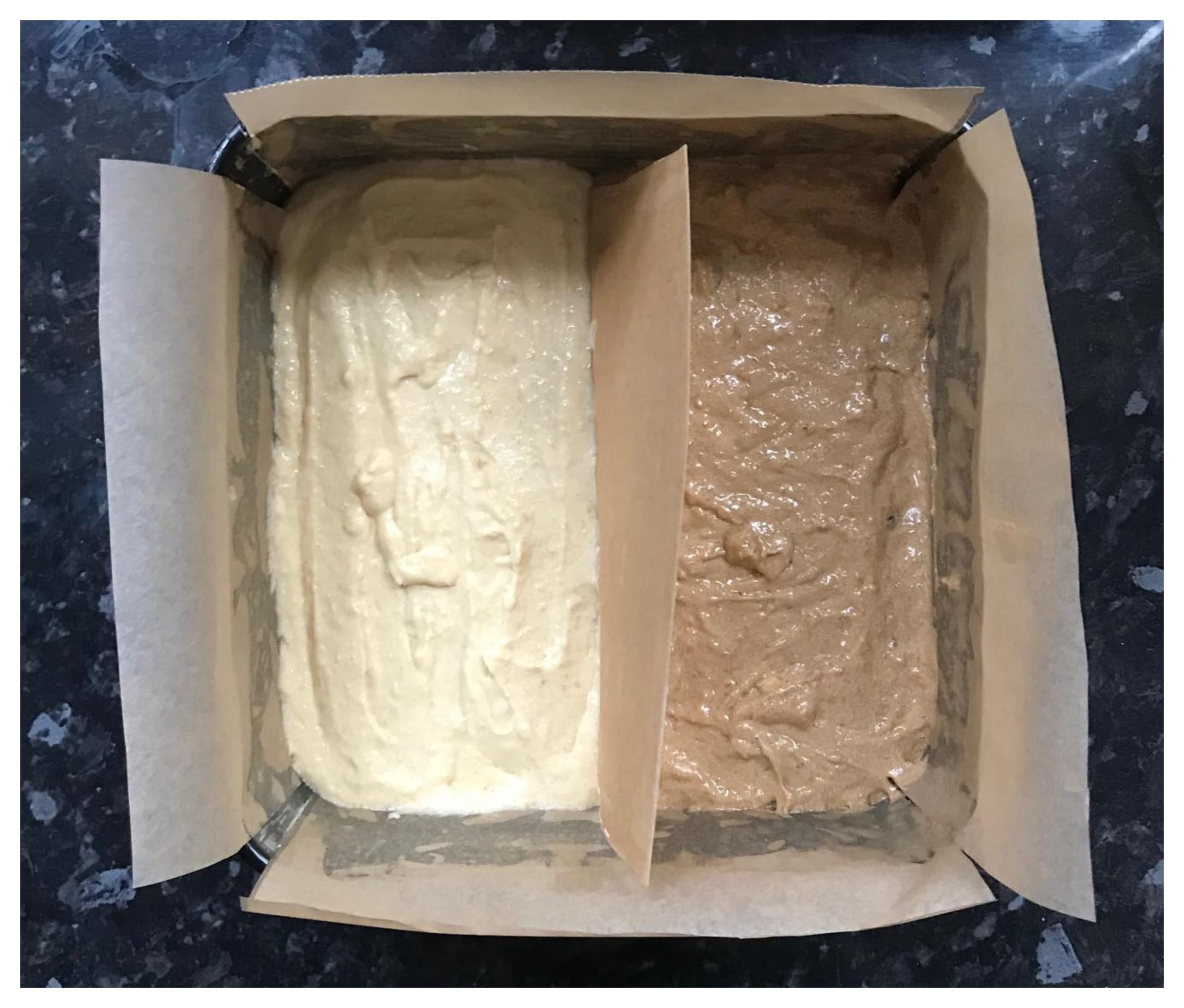 GBBO Technical Challenge S2W1 -  Coffee and Walnut Battenberg Cake