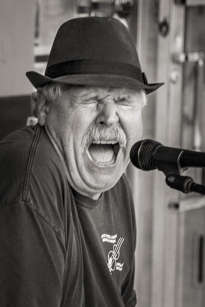 Blues Singer on HWY 61