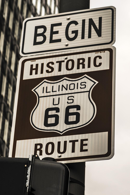 Begin RT66, Chicago, Il