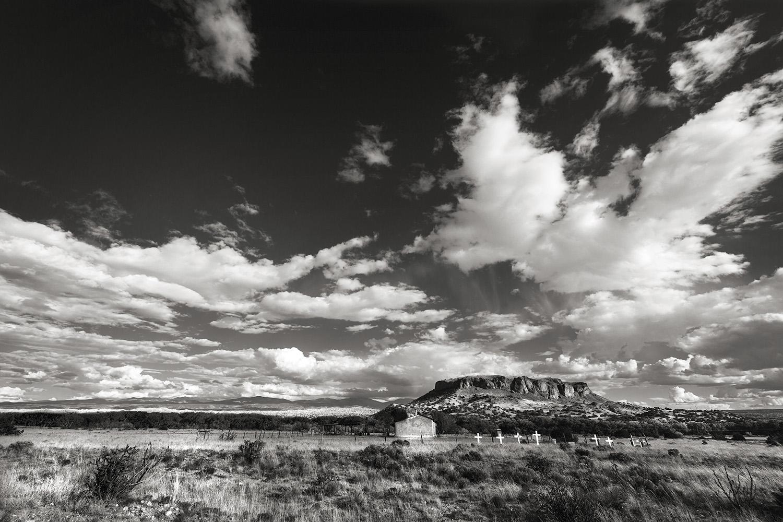 Grave Crosses near Los Alamos, NM