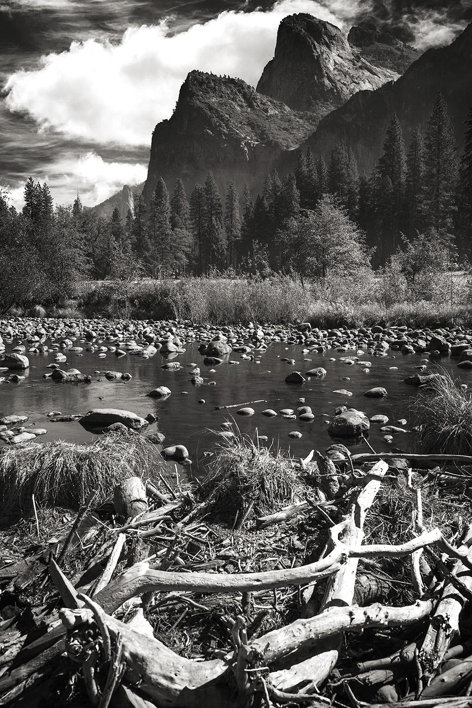 Merced River + Yosemite Valley Vertical , Ca