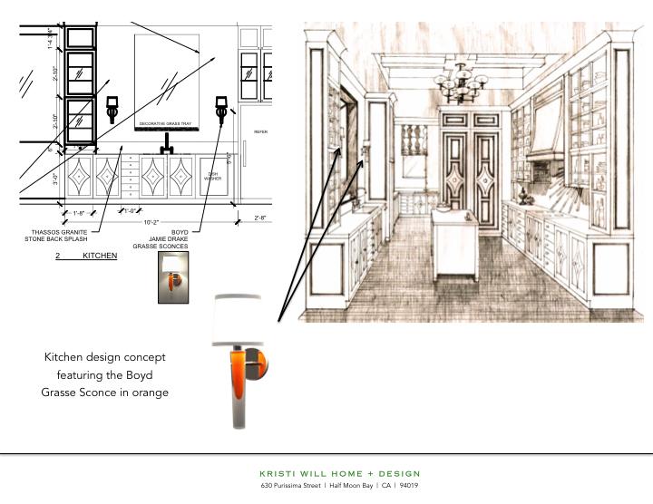 Grasse Sconce_Kristi Will Design