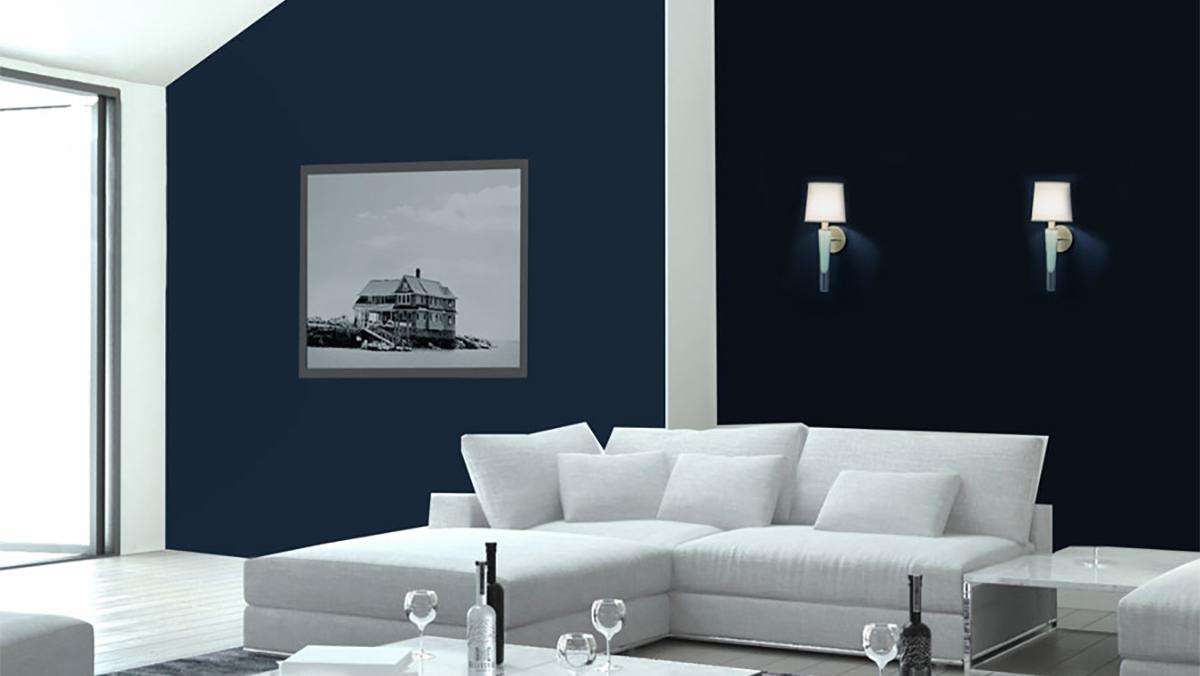 Grasse Sconce_white in living room