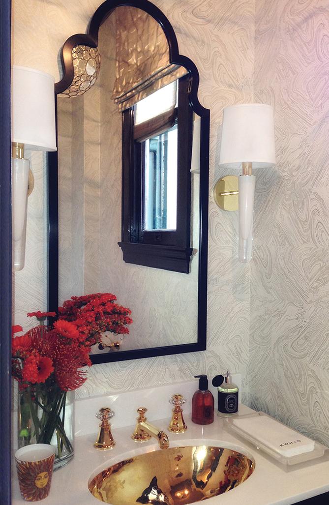 Grasse Sconce_white in bathroom_Kristi Will