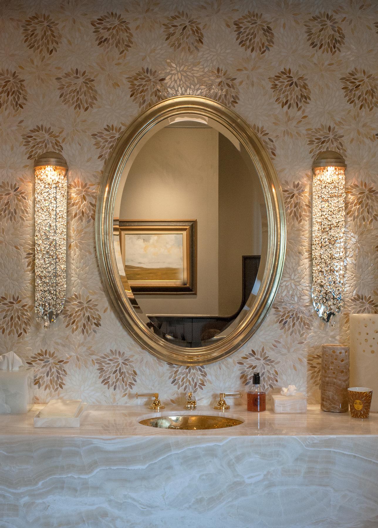 Shimmer Wall Bracket bathroom sconce by Boyd Lighting