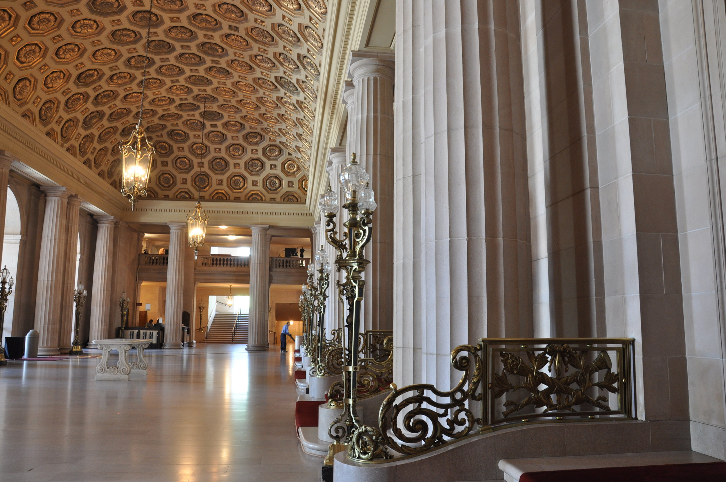 San Francisco War Memorial Opera House Torchieres