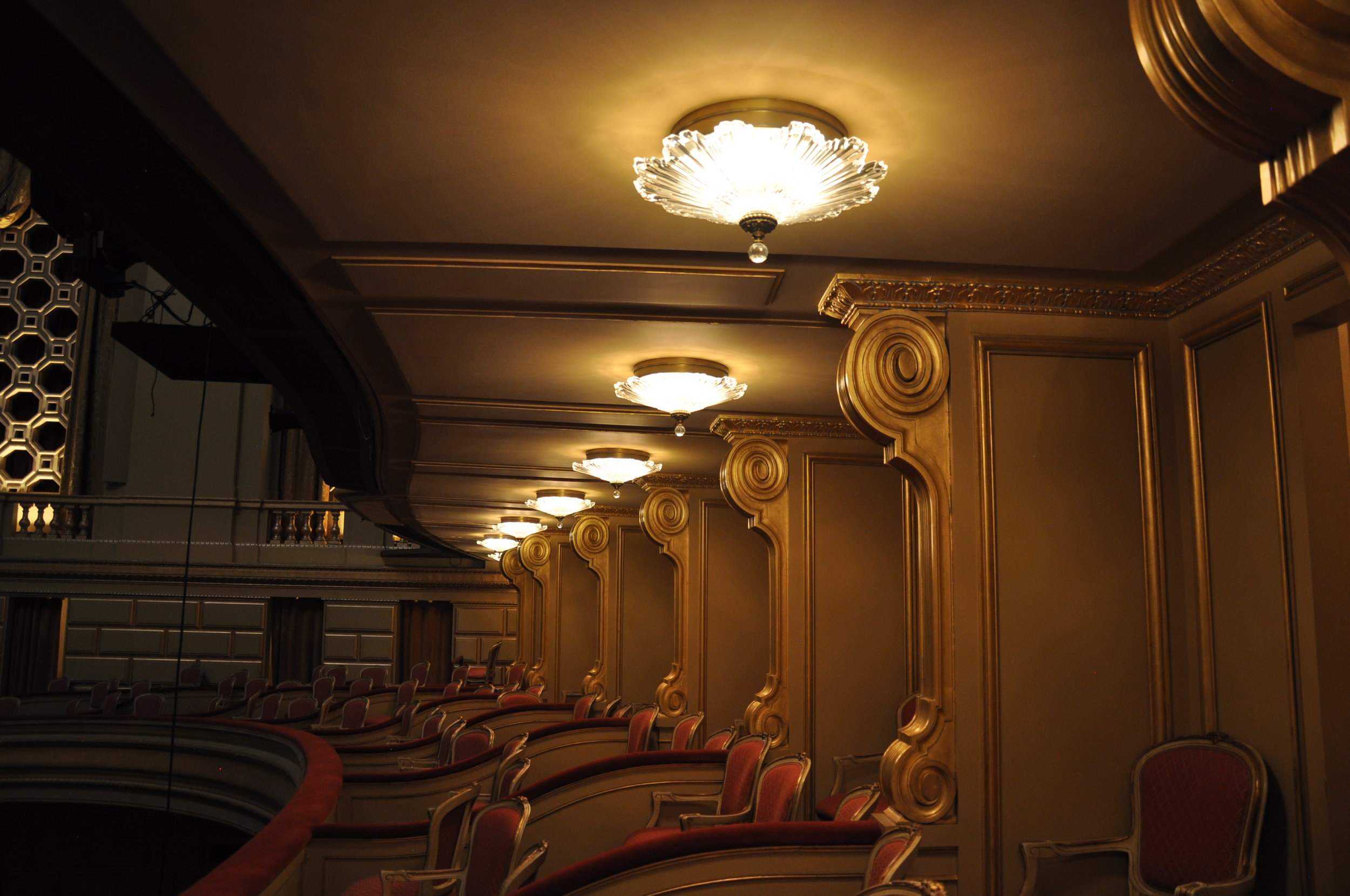 San Francisco War Memorial Opera House Ceiling Lights