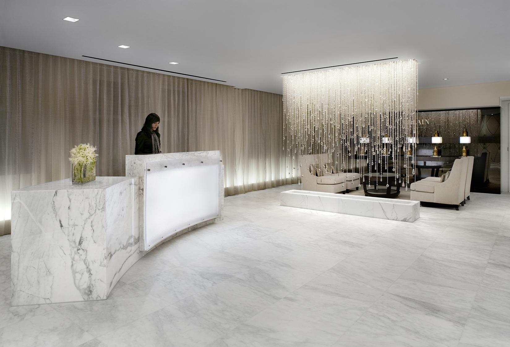 Guerlain NYC Spa Ceiling Fixture