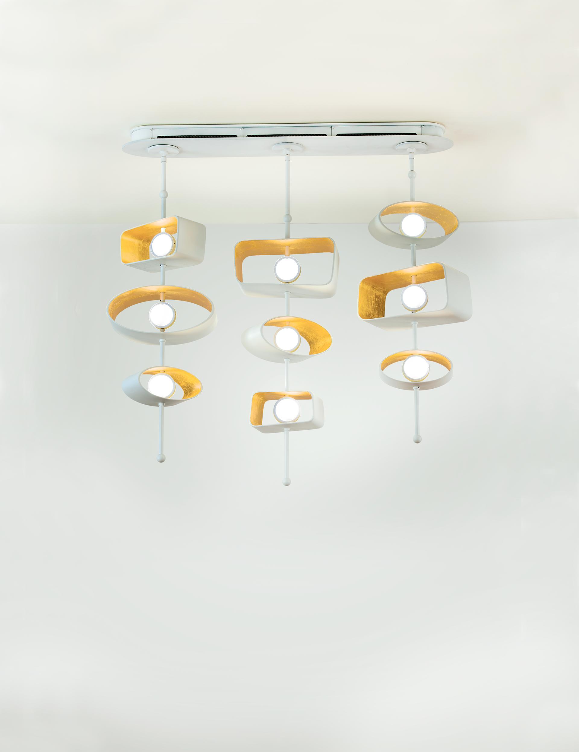 Boyd Lighting-Totem Linear Pendant