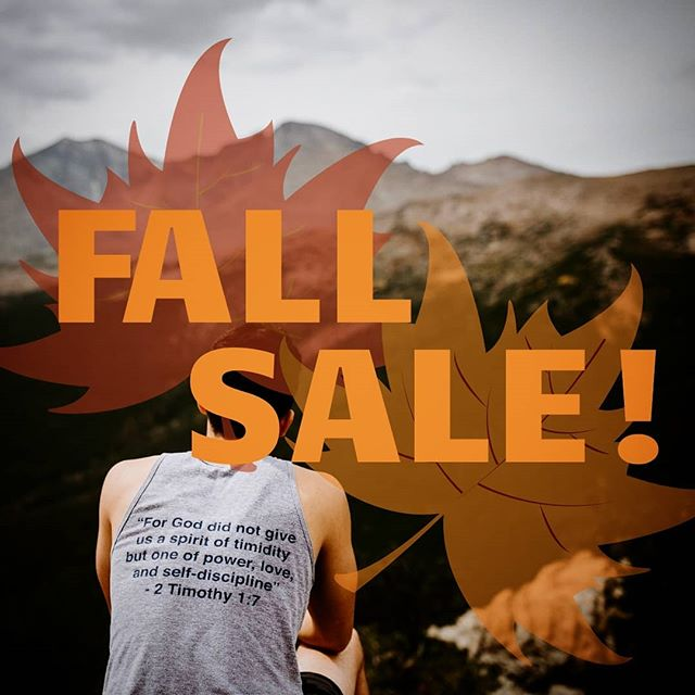 EVERYTHING MUST GO!  We think it's time for some fresh threads! Which means we need to free up some space in my storage!  All items are on sale and sizes are limited. Snatch em while you can!  www.SwoleCatholic.com/shop . . . . #swolecatholic #sale #fall #fallsale #deals #everythingmustgo #autumn #everythingonsale #athleticapparel #fitness #fitnessapparel #bodybuilding #weightlifting #weighttraining #flashsale #movingquick #athlete #athletic #leaves #LinkInBio