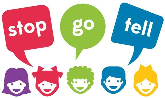 stop go tell bethesda logo