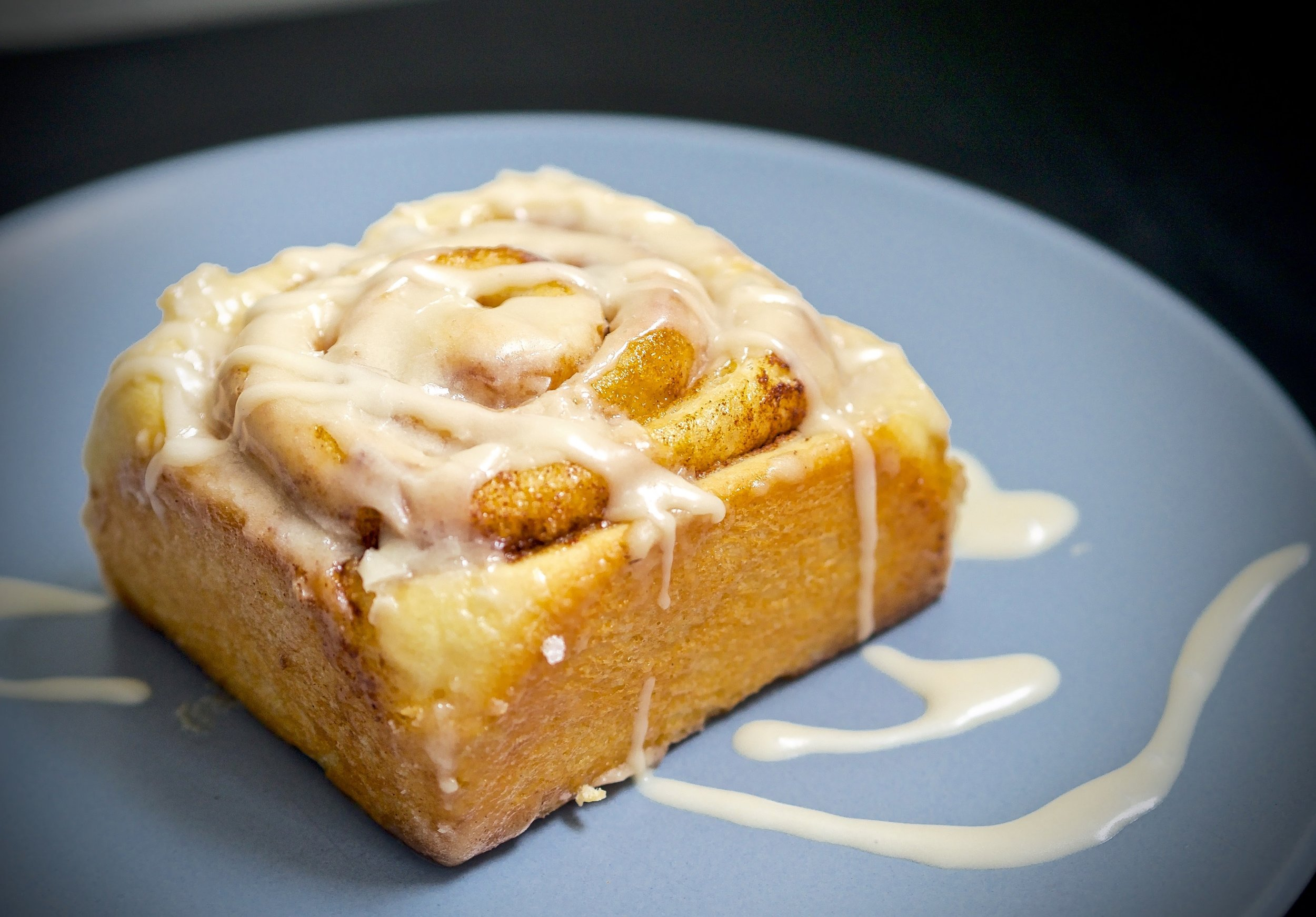 These cinnamon rolls are unbelievable. I wish this could be scratch-n-sniff.