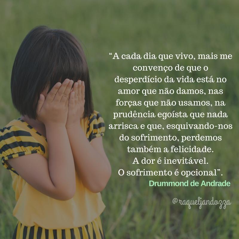 Dor e Sofrimento - Psicóloga Raquel Jandozza