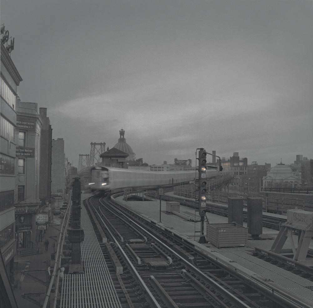 Train, Williamsburg, 2011