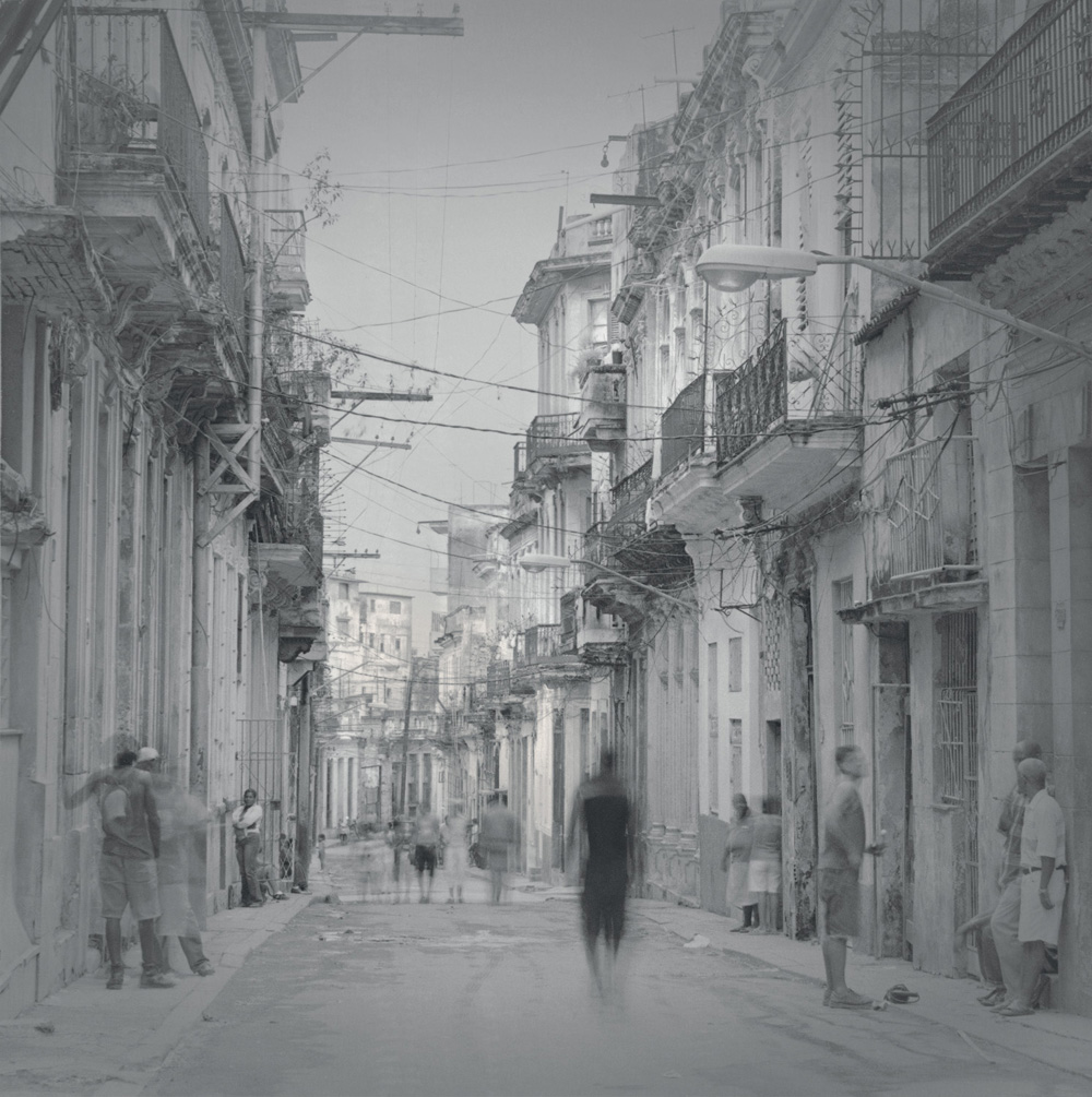 Street with wires, 2006