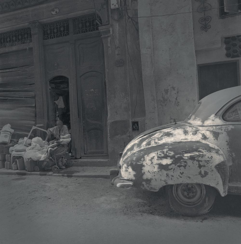 Beat-up car, 2003