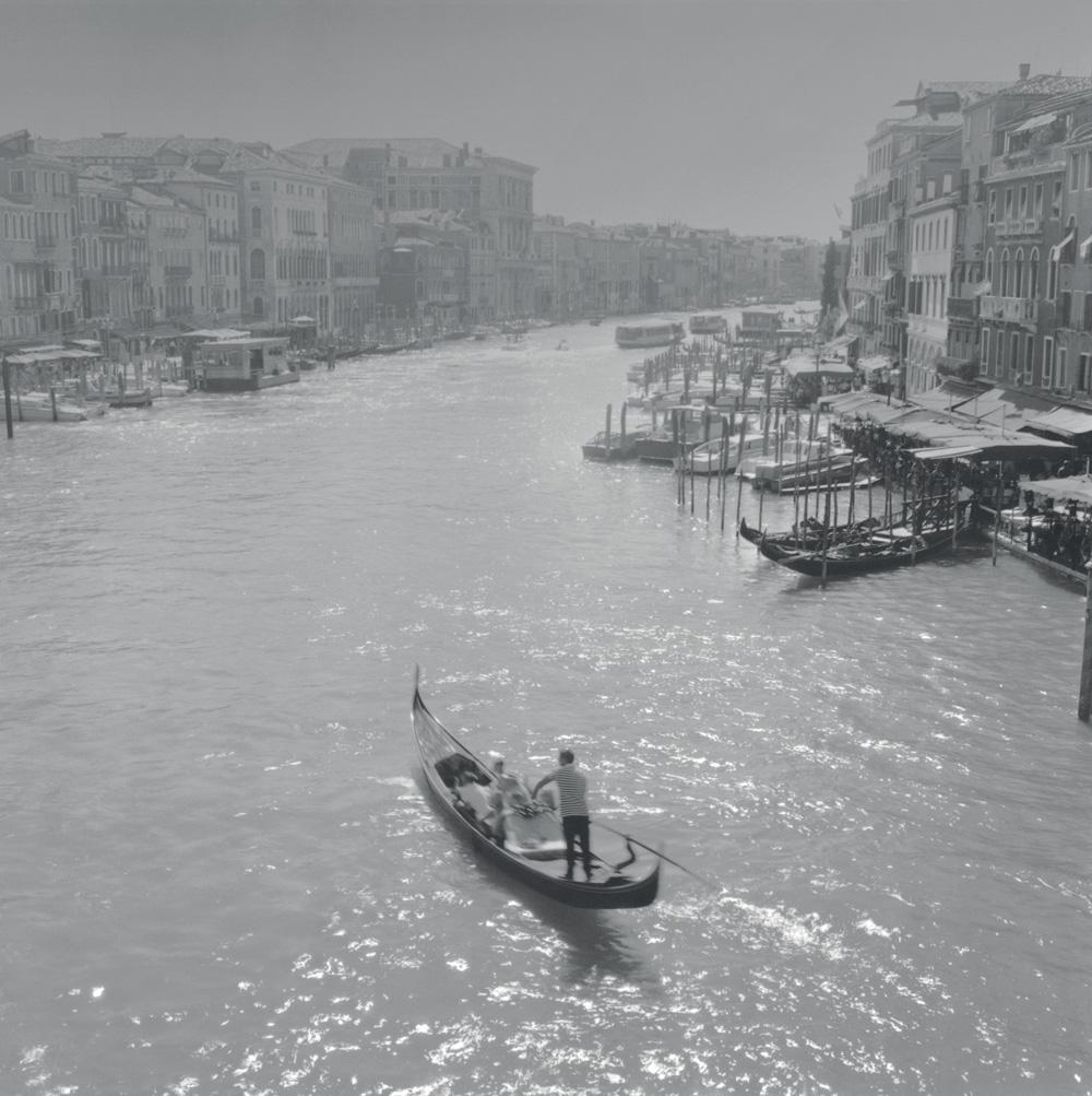 Gondola on Grand Canal, 2001