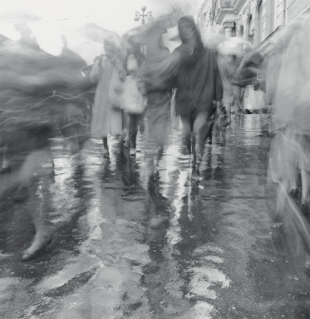 Rain on Nevsky Prospect, 1993