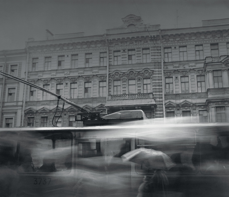 Trolley on Nevsky Prospect, 1992