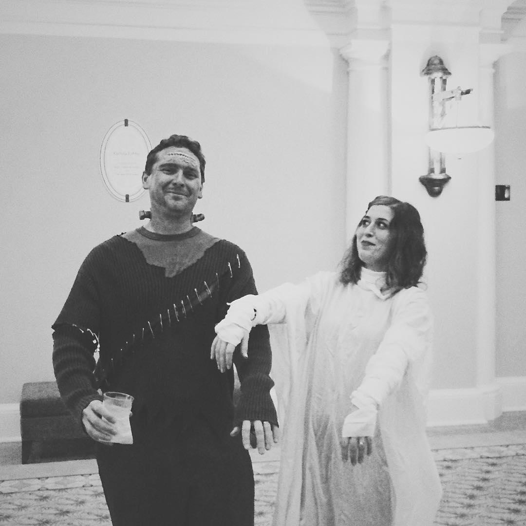 Frankenstein and his bride #charlestongaillardcenter