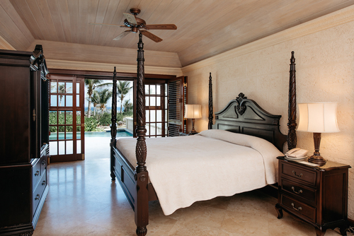 Your room at the resort