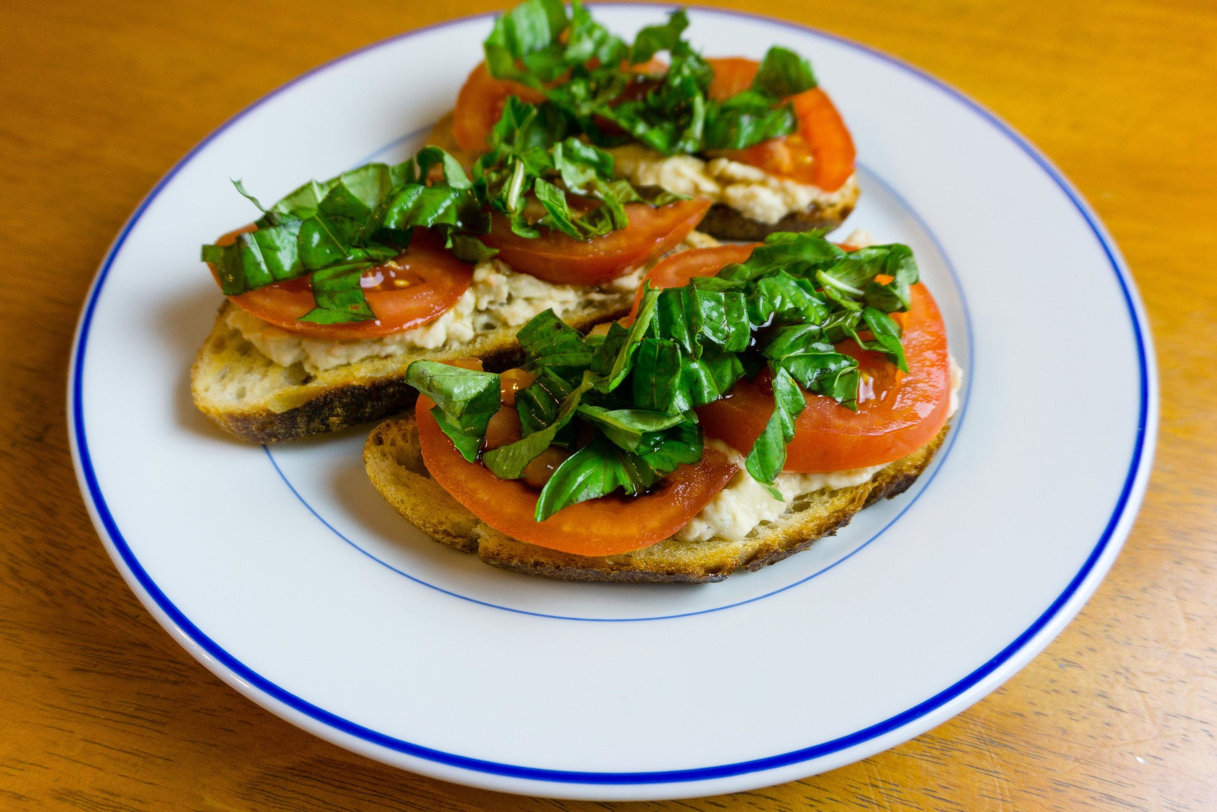 I made the Cannellini Caprese Crostini for dinner this past week. Loved it.