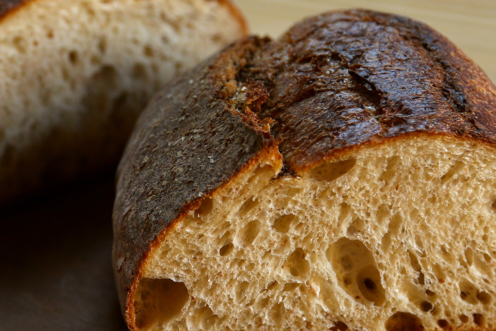 Pain Rustique   A rustic French peasant loaf and our lightest sourdough with white and rye flour. It is a sourdough that satisfies a white bread craving.