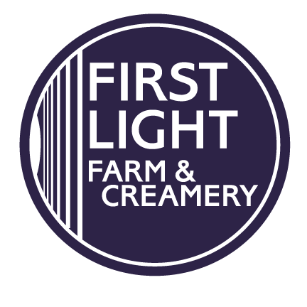 "At  First Light Farm  & Creamery  , ""we think about grass like winemakers think about grapes. The unique quality of milk from grass-fed animals makes our cheese a unique reflection of our organic pastures."""