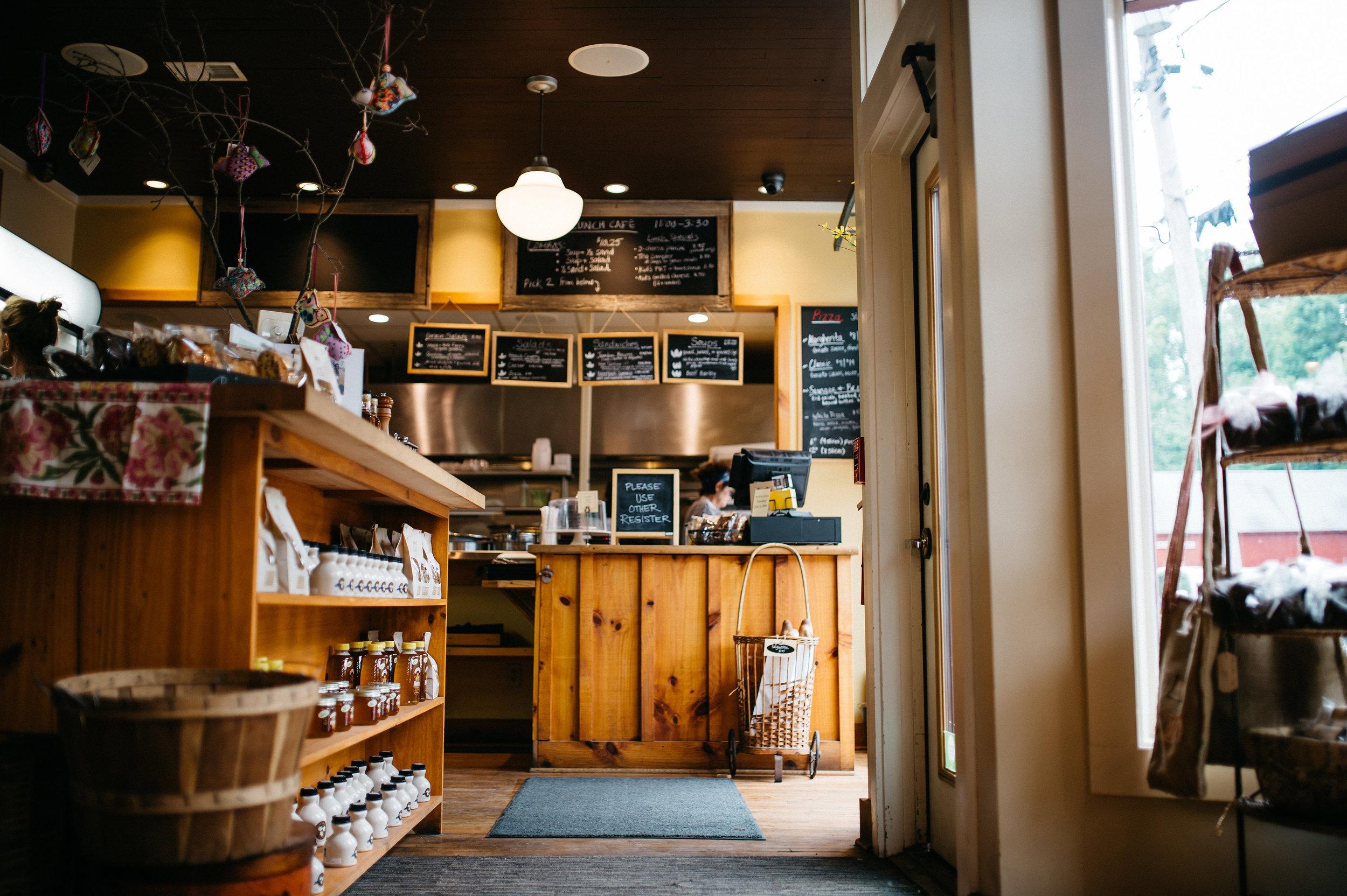 The Market at Elm Street Bakery.