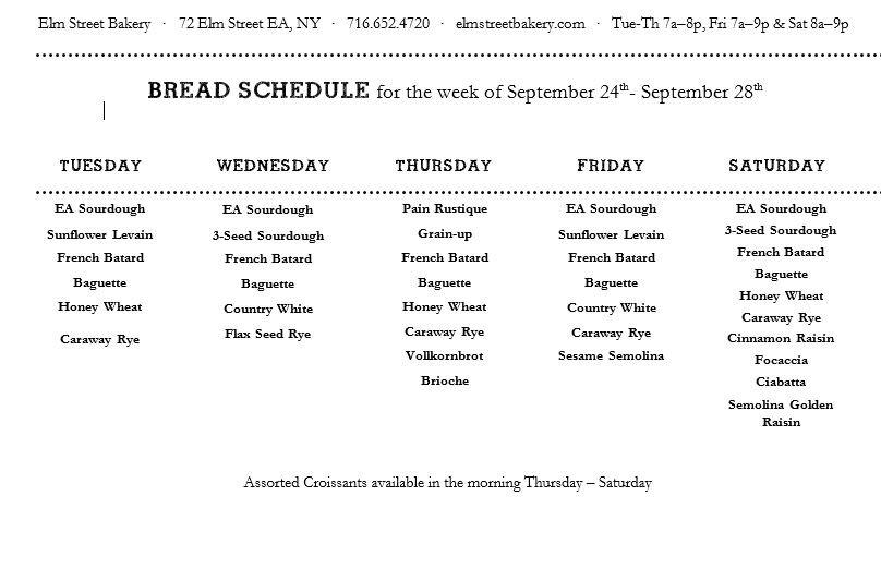 Bread Schedule as of 9-24.JPG