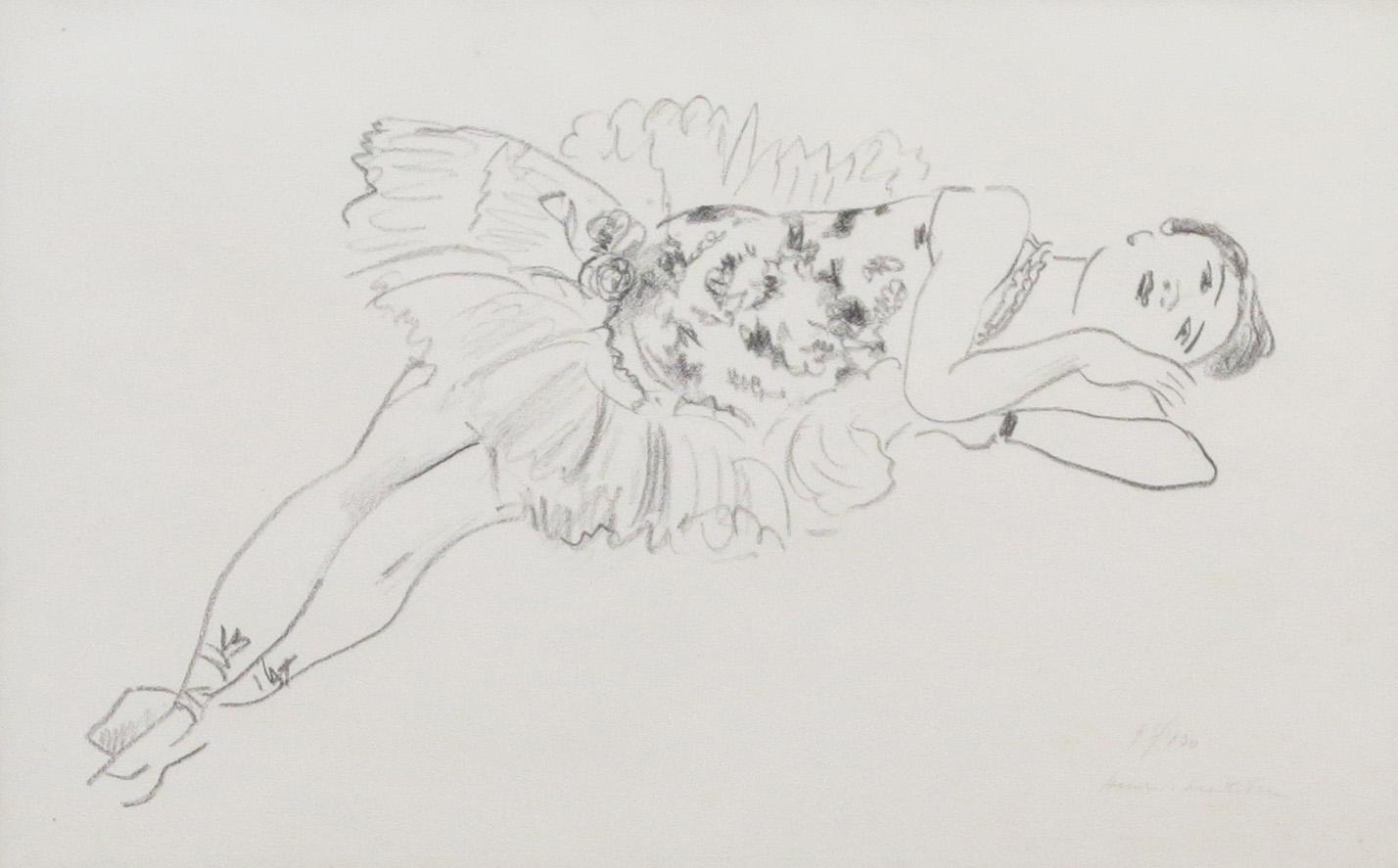 Reclining Dancer, 1925-26